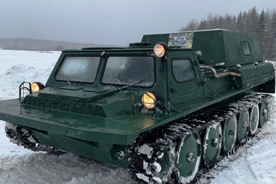 Аренда вездехода ГАЗ-71 (ГТСМ)